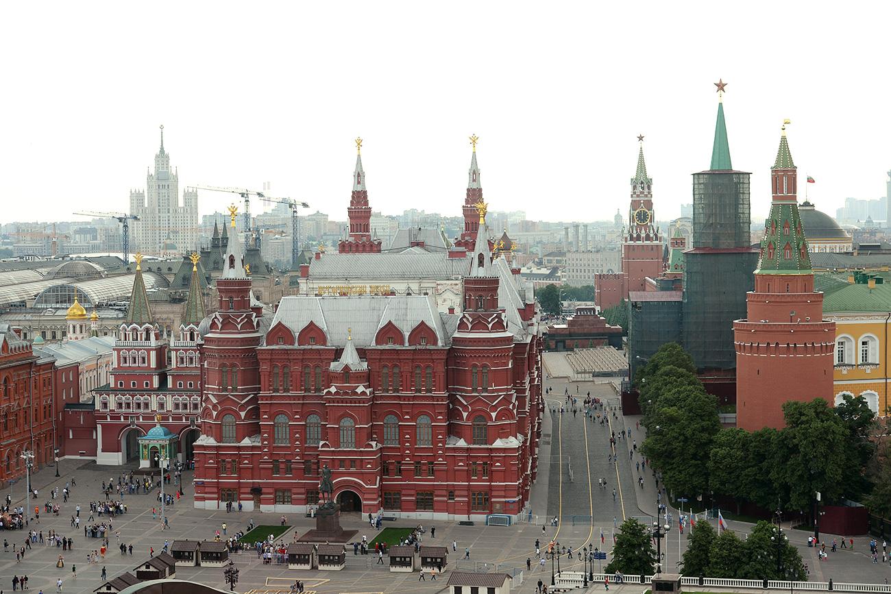Berwisata Ke Lapangan Merah Di Rusia Yang Patut Anda Kunjungi