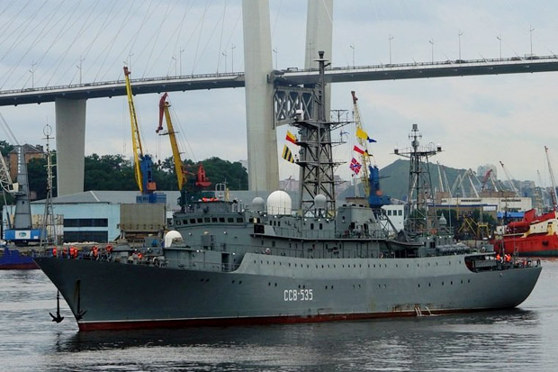 Cara Kapal Mata Mata Rusia Mengetahui Uji Pada Rudal Amerika Serikat